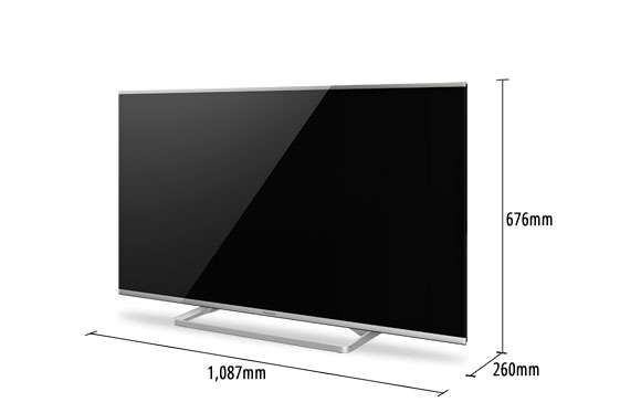 TX-48AS640 : le televiseur Direct LED de Panasonic