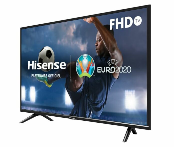 H40BE5000 : Hisense présente une dalle Direct LED