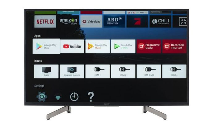 Sony KD-43XG8096 : un televiseur Edge-LED HAUT de Gamme