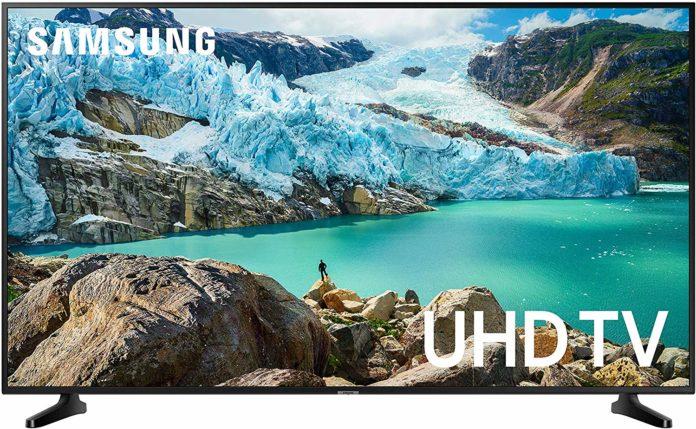 UE50RU7025 : Samsung revient avec un téléviseur Edge-LED