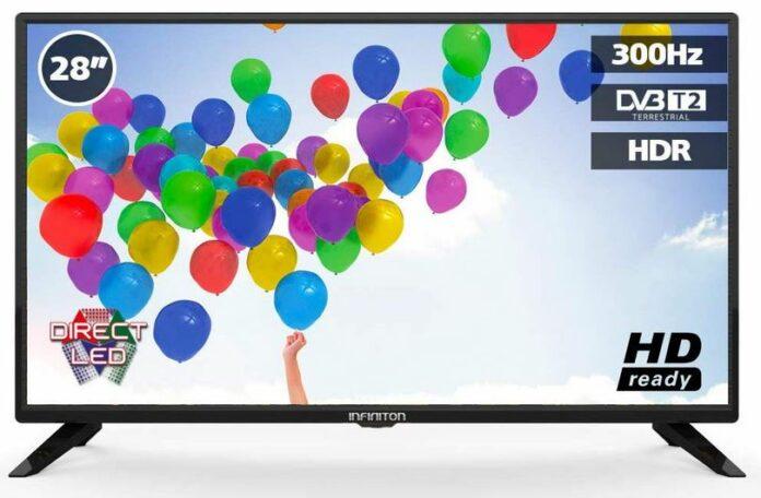 Télévision 28 pouces INFINITON : un modèle LED entrée de Gamme