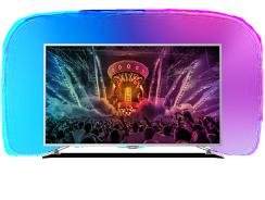 55PUS6561 : Le téléviseur Philips 4K Ambilight de 55 pouces